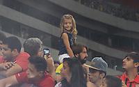 RECIFE-PE-29.06.2016-JOGO DO BEM-PE-  Torcedora mirim durante evento Jogo do Bem, realizado na Arena Pernambuco, zona oeste da Grande Recife, nesta quarta-feira, 29. (Foto: Jean Nunes/Brazil Photo Press)