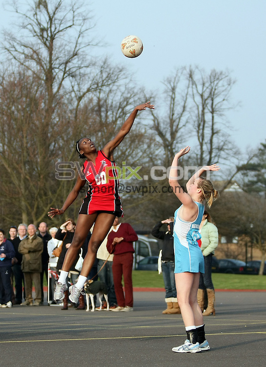 PICTURE BY VAUGHN RIDLEY/SWPIX.COM - Netball - England Netball National Schools Finals - Oundle School, Northamptonshire, England - 21/03/09...Copyright - Simon Wilkinson - 07811267706...U19 Champions Cardinal Newman.