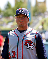Brian Bogusevic -  Round Rock Express .Photo by:  Bill Mitchell/Four Seam Images