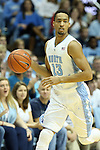 21 December 2013: North Carolina's J.P. Tokoto. The University of North Carolina Tar Heels played the Davidson College Wildcats at the Dean E. Smith Center in Chapel Hill, North Carolina in a 2013-14 NCAA Division I Men's Basketball game. UNC won the game 97-85 in overtime.
