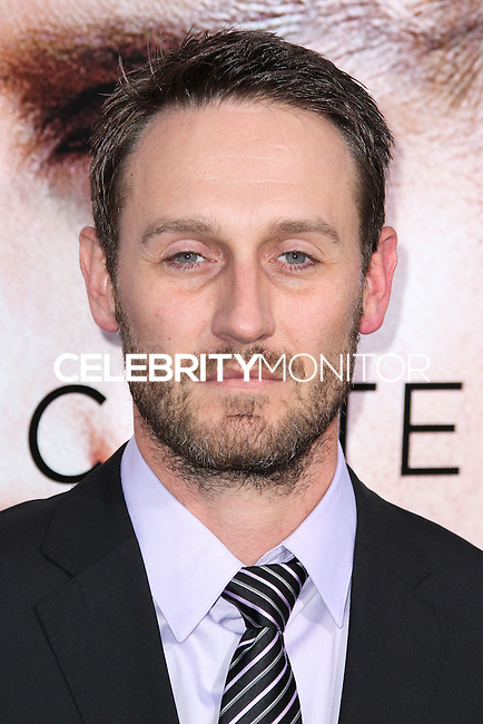 """WESTWOOD, LOS ANGELES, CA, USA - APRIL 10: Josh Stewart at the Los Angeles Premiere Of Warner Bros. Pictures And Alcon Entertainment's """"Transcendence"""" held at Regency Village Theatre on April 10, 2014 in Westwood, Los Angeles, California, United States. (Photo by Xavier Collin/Celebrity Monitor)"""