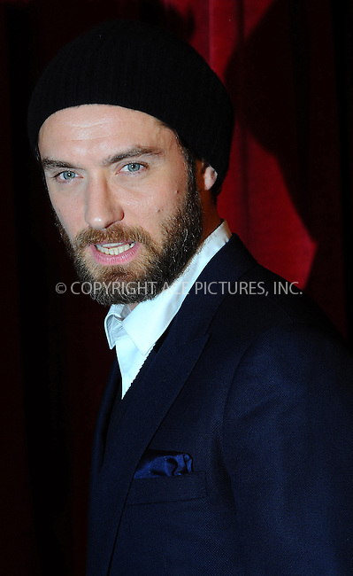 WWW.ACEPIXS.COM . . . . .  ..... . . . . US SALES ONLY . . . . .....December 8 2011, London....Jude Law at the premiere of 'Sherlock Holmes: A Game of Shadows' held at the Empire Leicester Square on December 8 2011 in London....Please byline: FAMOUS-ACE PICTURES... . . . .  ....Ace Pictures, Inc:  ..Tel: (212) 243-8787..e-mail: info@acepixs.com..web: http://www.acepixs.com