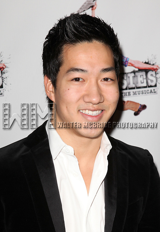 Alex Wong.attending the 'NEWSIES' Opening Night after Party at the Nederlander Theatre in New York on 3/29/2012