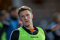 8th November 2019; Dens Park, Dundee, Scotland; Scottish Championship Football, Dundee Football Club versus Dundee United; Paul Watson of Dundee United during the warm up before the match  - Editorial Use