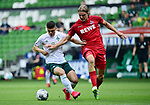 1:0 Tor v.l. Milot Rashica (Bremen), Sebastiaan Bornauw<br /> Bremen, 27.06.2020, Fussball Bundesliga, SV Werder Bremen - 1. FC Koeln<br /> Foto: VWitters/Witters/Pool//via gumzmedia/nordphoto<br />  DFL REGULATIONS PROHIBIT ANY USE OF PHOTOGRAPHS AS IMAGE SEQUENCES AND OR QUASI VIDEO<br /> EDITORIAL USE ONLY<br /> NATIONAL AND INTERNATIONAL NEWS AGENCIES OUT