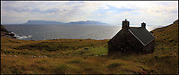BNPS.co.uk (01202 558833)<br /> Pic: GeoffAllan/BNPS<br /> <br /> A medium sized bothy at Dibidil on the Isle of Rum.<br /> <br /> Views with rooms. - New book reveals the remote 'bothies' that lie hidden in some of Britain's most spectacular locations.<br /> <br /> Nestled away in the beautiful remote wilderness of Scotland are a network of secluded mountain huts - known as bothies - where walkers can stay the night before heading to pastures new.<br /> <br /> What is so special about these quaint outposts in some of the most idyllic and untouched landscapes north of the border is that they are completely free to use.<br /> <br /> As a result, the location of many bothies has been a closely guarded secret with visitor centres reluctant to advertise their whereabouts for fear they become overcrowded.<br /> <br /> But in his new book, The Scottish Bothy Bible, author and photographer Geoff Allan has listed more than 80 of them in a bid to make them known to a wider audience.
