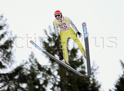 13.12.2013 Titisee-Neustadt Germany. Mens World Cup Ski-Jumping Training and Qualification.  Andreas Wellinger (GER) .