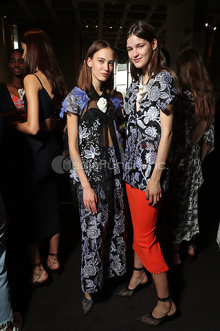 Roland Mouret<br /> backstage at  fashion show, London Fashion Week<br /> Spring Summer 2018<br /> in London, England in September 2017.<br /> CAP/GOL<br /> &copy;GOL/Capital Pictures /MediaPunch ***NORTH AND SOUTH AMERICAS ONLY***