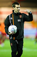 Blackpool's first team coach Richie Kyle<br /> <br /> Photographer Alex Dodd/CameraSport<br /> <br /> EFL Checkatrade Trophy - Northern Section Group B - Accrington Stanley v Blackpool - Tuesday 3rd October 2017 - Crown Ground - Accrington<br />  <br /> World Copyright &copy; 2018 CameraSport. All rights reserved. 43 Linden Ave. Countesthorpe. Leicester. England. LE8 5PG - Tel: +44 (0) 116 277 4147 - admin@camerasport.com - www.camerasport.com