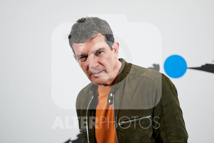 Antonio Banderas attends to 'Soho Theatre' photocall at Caixa Bank in Madrid, Spain. February 06, 2019. (ALTERPHOTOS/A. Perez Meca)
