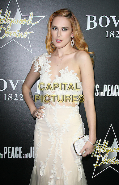27 February 2014 - West Hollywood, California - Rumer Willis. Hollywood Domino&rsquo;s 7th Annual Pre-Oscar Charity Gala held at Sunset Tower Hotel. <br /> CAP/ADM/<br /> &copy;AdMedia/Capital Pictures