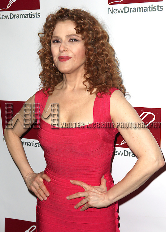 Bernadette Peters.attending the New Dramatists 63rd Annual Spring Luncheon to Honor Bernadette Peters at the Marriott Marquis Hotel in New York City on 5/24/2012 © Walter McBride/WM Photography .