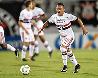Orlando, FL - Saturday Jan. 21, 2017: São Paulo midfielder Cueva (10) during the second half of the Florida Cup Championship match between São Paulo and Corinthians at Bright House Networks Stadium. The game ended 0-0 in regulation with São Paulo defeating Corinthians 4-3 on penalty kicks