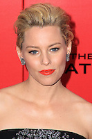 "NEW YORK, NY - NOVEMBER 20: Elizabeth Banks at the New York Premiere Of Lionsgate's ""The Hunger Games: Catching Fire"" held at AMC Lincoln Square Theater on November 20, 2013 in New York City. (Photo by Jeffery Duran/Celebrity Monitor)"