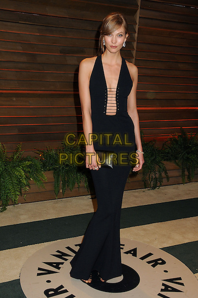 02 March 2014 - West Hollywood, California - Karlie Kloss. 2014 Vanity Fair Oscar Party following the 86th Academy Awards held at Sunset Plaza. <br /> CAP/ADM/BP<br /> &copy;Byron Purvis/AdMedia/Capital Pictures