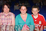 Short show: ready for the Pat Short show at St. John's are: Catherine, Sara and Danny Browne, from Listowel.
