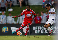Carson, CA - July 16, 2016: In the 2016 U.S. Soccer Development Academy U-17/18 Championship Finals. FC Dallas defeated the Vancouver Whitecaps 2-1 in overtime to win the Championship at StubHub Center.