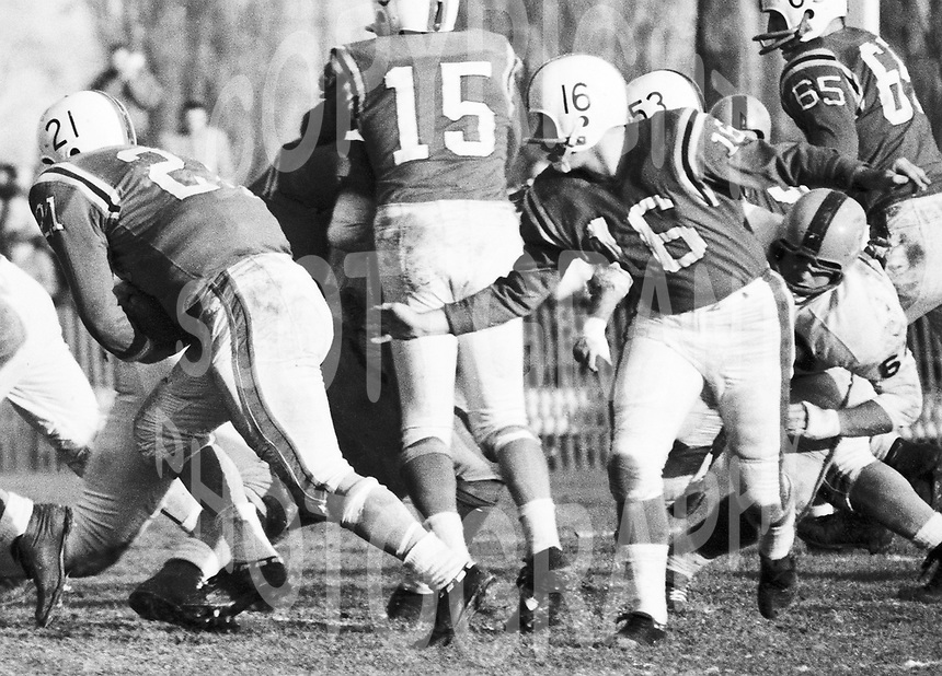 Ron Lancaster Ottawa Rough Riders quarterback. Photo Ted Grant