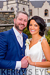 Laura Moynihan, Rathmore, daughter of Barry and Nerissa, and Don Murphy, Gneeveguilla, son of Paddy and the late Breda, who were married in Gneeveguilla on Saturday, Fr Pat O'Donnell officiated at the ceremony, best man was the grooms brother Padraig Murphy, groomsman was Willie Joe Murphy, bridesmaids was the brides sister Sarah Moynihan, with Aideen McCarthy, flowergirls were Mia O'Brien, and amelia reen, pageboys were Darragh O'brien, the reception was held in the Muckross Park Hotel and the couple will reside in Gneeveguilla