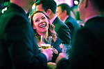 © Joel Goodman - 07973 332324 . 01/03/2018 . Manchester , UK . Guests socialising ahead of the ceremony . The Manchester Evening News Legal Awards at the Midland Hotel in Manchester City Centre . Photo credit : Joel Goodman