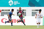Obi Powell Obinna (JPN), <br /> AUGUST 19, 2018 - Football / Soccer : <br /> Men's Group D match <br /> between Japan 0-1 Vietnam <br /> at Wibawa Mukti Stadium <br /> during the 2018 Jakarta Palembang Asian Games <br /> in Cikarang, Indonesia. <br /> (Photo by Naoki Morita/AFLO SPORT)