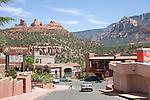 U.S.A., Southwest desert, America, Arizona, Sedona, town, tourists, red rock,