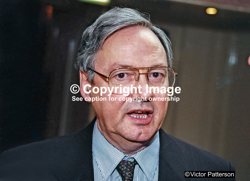 Norman Hogg, MP, Labour Party, UK, 19961025NH.<br />