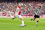 Nederland, AMsterdam, 1 April 2012.Eredivisie.Seizoen 2011-2012.Ajax-Heracles 6-0.Kolbeinn Sigthorsson van Ajax in actie met de bal