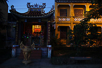 Chinese temple<br />  in <br />  Hoi An, January, 2017