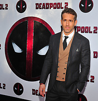 New York, NY - May 14: Ryan Reynolds attends the 'Deadpool 2' screening at AMC Loews Lincoln Square on May 14, 2018 in New York City..  <br /> CAP/MPI/PAL<br /> &copy;PAL/MPI/Capital Pictures
