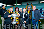 Ina Moloney, Geraldine Payne, Eileen O'Sullivan, Denise O'Sullivan, Bobby Payne and Tim O'Sullivan Dr Crokes Supporters pictured after the County final at Austin Stack Park on Sunday.