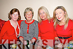 Ladies In Red, Men In Black : Attending the Abbefeale Community Development Association's Ladies In Red, Men In Black event at TJ O'Riordan's Bar, Abbeyfeale on Friday night were in Theresa Enright, Betty O'Leary, Annette Mann & Annette O'Leary.