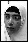 "Obeida Khalil , 27, a Palestinian ""would be suicide bomber"" is seen at Hasharon Prison, February 25, 2004. Photo by Quique Kierszenbaum"