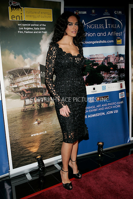 WWW.ACEPIXS.COM . . . . . ....February 20 2009, LA....Maria Grazia Cucinotta at the 4th Los Angeles Italia Film, Fashion And Art Festival's U.S. premiere of 'Franco Cristaldi: An Italian Legend' at the Mann Chinese 6 Theaters on February 20, 2009 in Hollywood, California.....Please byline: JOE WEST- ACEPIXS.COM.. . . . . . ..Ace Pictures, Inc:  ..(212) 243-8787 or (646) 679 0430..e-mail: picturedesk@acepixs.com..web: http://www.acepixs.com
