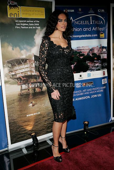 WWW.ACEPIXS.COM . . . . . ....February 20 2009, LA....Maria Grazia Cucinotta at the 4th Los Angeles Italia Film, Fashion And Art Festival's U.S. premiere of 'Franco Cristaldi: An Italian Legend' at the Mann Chinese 6 Theaters on February 20, 2009 in Hollywood, California.....Please byline: JOE WEST- ACEPIXS.COM.. . . . . . ..Ace Pictures, Inc:  ..(212) 243-8787 or (646) 679 0430..e-mail: picturedesk@acepixs.com..web: http://www.acepixs.com