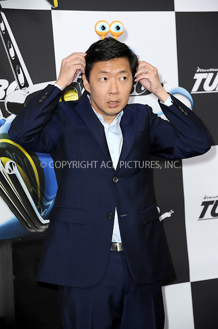 WWW.ACEPIXS.COM<br /> July 9, 2013...New York City <br /> <br /> Ken Jeong attending the DreamWorks Animation, in Association with 20th Century Fox Premiere of TURBO<br /> at AMC Loews Lincoln Square, New York, NY on July 9, 2013.<br /> <br /> Please byline: Kristin Callahan... ACE<br /> Ace Pictures, Inc: ..tel: (212) 243 8787 or (646) 769 0430..e-mail: info@acepixs.com..web: http://www.acepixs.com