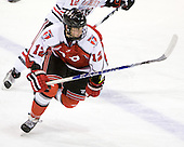 Johnny Rogic (RPI - 12) was one of four freshman in the lineup for RPI. - The visiting Rensselaer Polytechnic Institute Engineers tied their host, the Northeastern University Huskies, 2-2 (OT) on Friday, October 15, 2010, at Matthews Arena in Boston, MA.