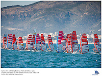 Palma de Mallorca, Spain, 20130403: 2013 SOFIA TROPHY - more than 800 sailors from 53 countries participate in the 44th edition of the Princesa Sofia MAPFRE ISAF Sailing World Cup event. 11 different Classes sail on five race courses across the bay.. .Photo: Mick Anderson/SAILINGPIX