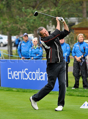 19.08.2011 The Scottish Ladies Open from the Archerfield Links course. TV pundit Alan Hansen is playing in the amateur competition.