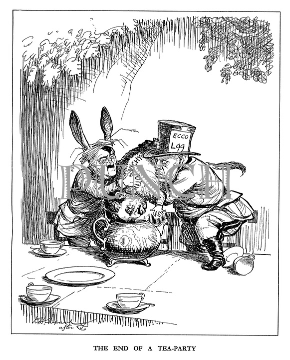 The End of a Tea-party