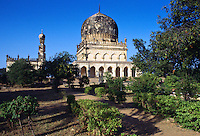 Qutub Shahi  Tombs, Hyderabad,  India.