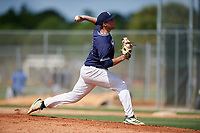 Shawn Rapp during the WWBA World Championship at the Roger Dean Complex on October 18, 2018 in Jupiter, Florida.  Shawn Rapp is a left handed pitcher from Mendham, New Jersey who attends Delbarton High School and is committed to North Carolina.  (Mike Janes/Four Seam Images)