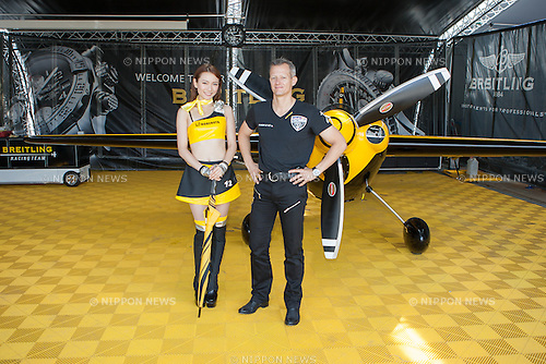 2016/06/04 Chiba, The Red Bull Air Race World Championship 2016 made it's 3rd stop in Chiba Japan.<br /> Breitling Racing Team, Francois le Vot FRA<br /> <br /> (Photos by Michael Steinebach/AFLO)