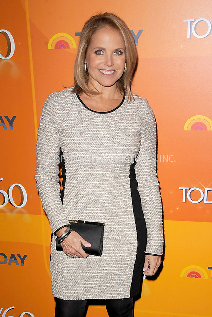 WWW.ACEPIXS.COM . . . . . .January 12, 2012, New York City.....Katie Couric attends the 'TODAY' Show 60th anniversary celebration at The Edison Ballroom on January 12, 2012 in New York City...Please byline: KRISTIN CALLAHAN - ACEPIXS.COM.. . . . . . ..Ace Pictures, Inc: ..tel: (212) 243 8787 or (646) 769 0430..e-mail: info@acepixs.com..web: http://www.acepixs.com .