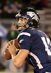 November 12, 2011:Nevada Wolf Pack quaterback Cody Fajardo drops back to pass in the first quarter during a WAC league game vs Hawaii played at Mackay Stadium in Reno, Nevada.