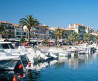 France, Côte d'Azur, Bandol: Harbour Scene | Frankreich, Côte d'Azur, Bandol: Hafen