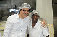 SAO PAULO, 20 DE GOSTO DE 2012 - ELEICOES 2012 CHALITA - Candidato Gabriel Chalita (PMDB) durante visita a Instituicao Judaica Ten Yad, no Bom Retiro, regioa central da capital no inicio da tarde desta segunda feira. FOTO: ALEXANDRE MOREIRA - BRAZIL PHOTO PRESS
