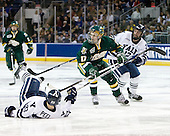 Kevin Peel (Yale - 23), Matt Marshall (Vermont - 17), Ken Trentowski (Yale - 12) - The University of Vermont Catamounts defeated the Yale University Bulldogs 4-1 in their NCAA East Regional Semi-Final match on Friday, March 27, 2009, at the Bridgeport Arena at Harbor Yard in Bridgeport, Connecticut.