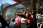 Canada: About the train The Rocky Mountaineer between Vancouver and Banff.  Photo #: cnrail102.Photo copyright Lee Foster, 510/549-2202, lee@fostertravel.com, www.fostertravel.com