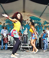 DJA-Rara from Haiti playing at Jazz Fest 2011 in New Orleans, LA on day 3.